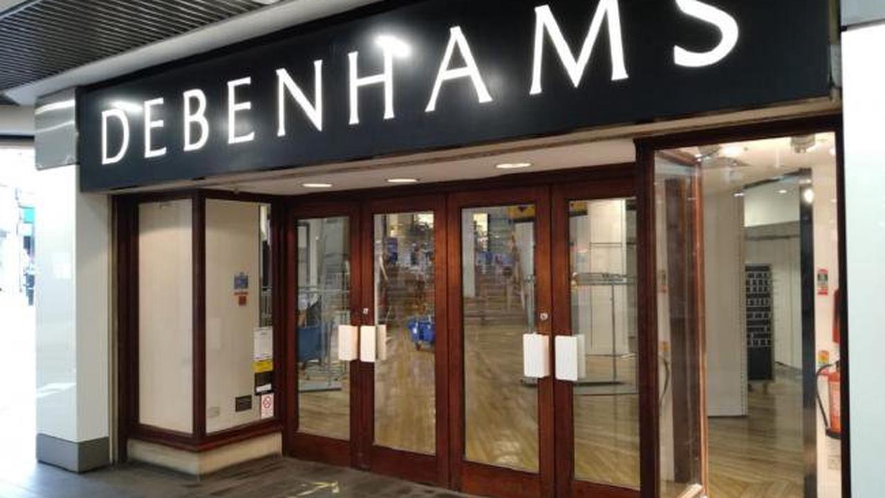 These branches of Debenhams will reopen again for massive final sale