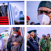 Reactions as Buhari returns to Nigerian barely two weeks after he travelled to London