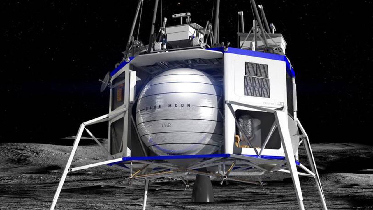 Jeff Bezos propose une réduction de 2Mds$ à la NASA pour fournir un alunisseur