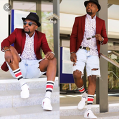 Meet the Nigerian model that is rising to fame with his fashion lifestyle