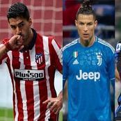 Top 10 des meilleurs attaquants de la saison en Europe (Squawka)…Ronaldo 4e, Haaland 6e, Suarez 7e