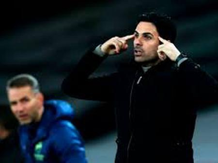 Arsenal Manager Mikel Arteta Frustrated With Star After Poor Performance Against Benfica