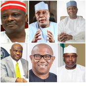 2023 PDP Presidential Flag Bearer: Top 6 candidates that could grab the ticket