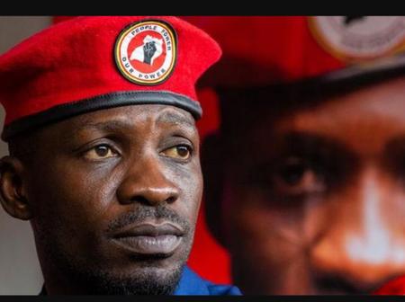 Bobi Wine rejects the election results in Uganda.
