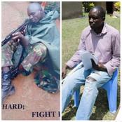 Sad! Kenya's Senior KDF Officer Reportedly Languishing In Poverty