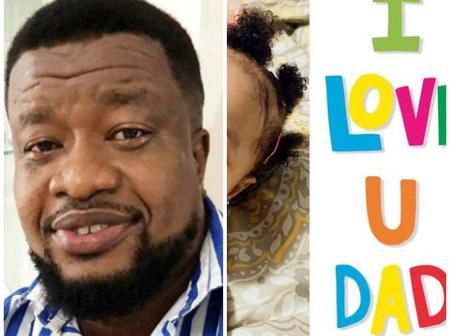 Browny Igboegwu Shows Off His Beautiful Daughter (Ugochalacha), Calls Her An Angel In Human Form