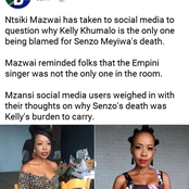 Opinion| Here is the thing that individuals after Ntsiki Mazwai about Kelly Khumalo