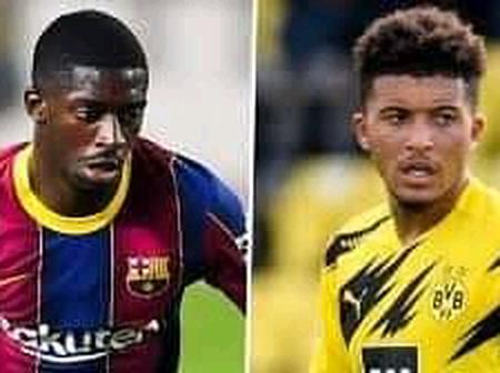 Man United fans make their choice between Sarr, Sancho and Dembele.