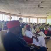 Photos As Peter Obi, Ekwunife, Arthur Eze, Others That Graced Book Presentation In Awka.