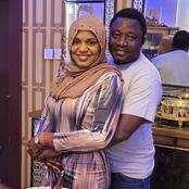 Photos of actress Fati Ladan and her husband