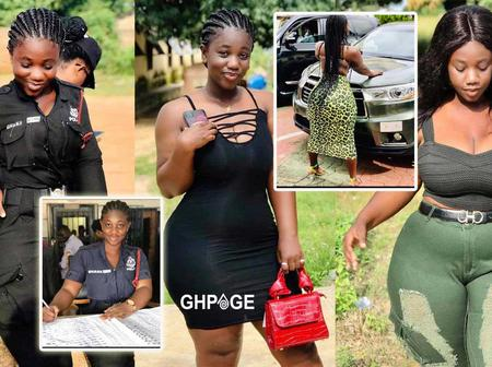 See photos of Ama Serwaa, the most beautiful policewoman in Ghana (photos and details)