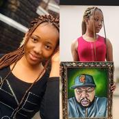 Meet Osinachi, the beautiful lady who is an artist (photos)