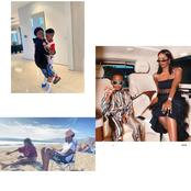 Checkout Pictures Of Tiwa Savage's Son Spending Time With His Step Siblings And Father