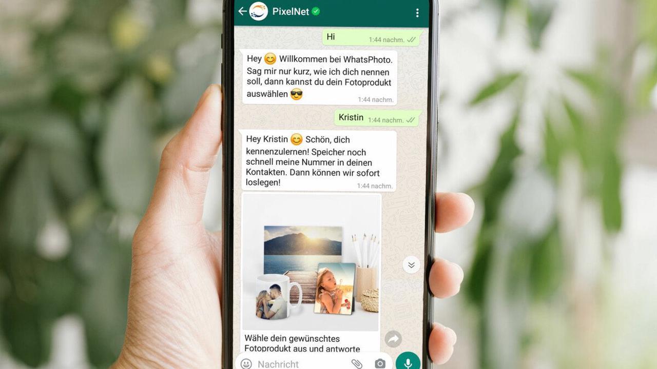 Neuer WhatsApp-Bot: Foto-Abzüge direkt über den Messenger bestellen