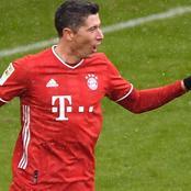 See The Number of Goals Robert Lewondoski Has in Bundesliga