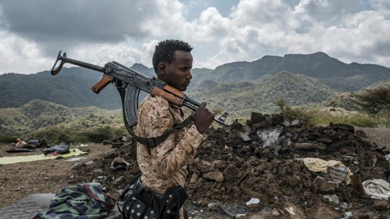 """""""violents combats"""" dans une région limitrophe du Tigré"""