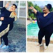 See beautiful pictures of the confident Nomsa who known as former Our Perfect Wedding presenter.
