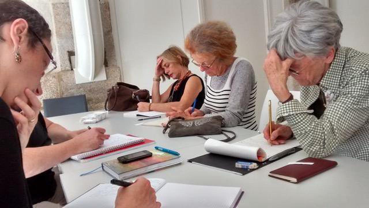 Reprise de l'atelier d'écriture, à la médiathèque de Mortagne-au-Perche