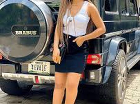 Regina Daniels flaunts Her mansions and cars after giving birth