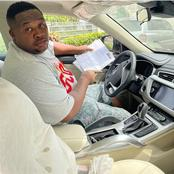 Davido And Others React As Cubana Chief Priest Shows Off His Newly Acquired X7 Car.