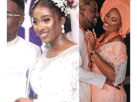 Beautiful Couple: See How This Gospel Minister Turned His Own Wedding Reception to a Revival Ground