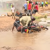 Journalists Plunge Into Muddy Sewage In The Line Of Duty