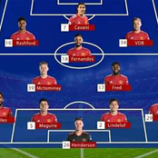 Manchester United Will Show No Mercy To PSG if they Start this Dangerous 4-4-2 Line Up: Opinion