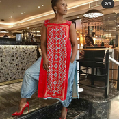 Fans react to Unathi's 20k shoes but with a r50 denim trousers.