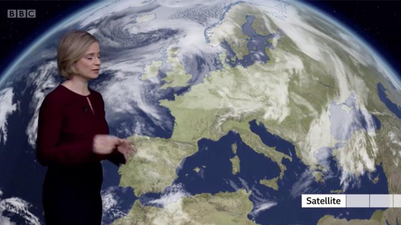 BBC Weather Europe: Arctic air to send temperatures plummeting into next week