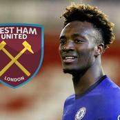 Chelsea striker Tammy Abraham is attracting interest from West Ham United