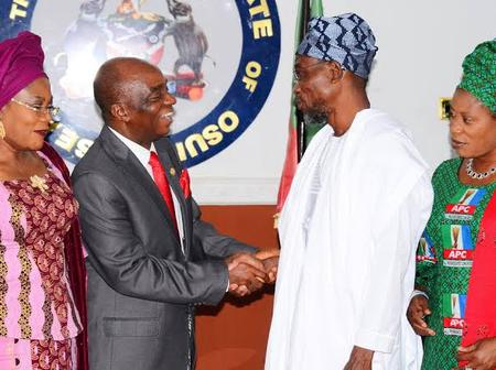 Photos of Oyedepo with Obasanjo, Aregbesola, Dino, Jonathan and other politicians