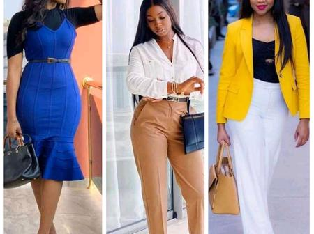 Beautiful And Classic Cooperate Wears For Career Ladies