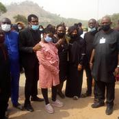Photospeak: Babayaro's Wife Finally Laid To Rest