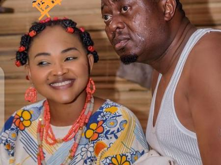Fans React As Mercy Aigbe Shares New Pictures With Muyiwa Ademola
