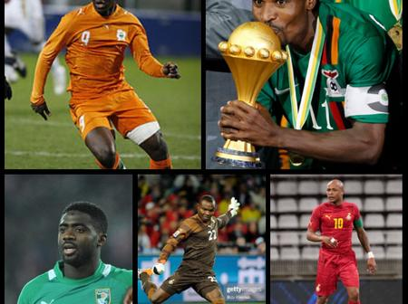 Brothers that featured in the same national team in Africa.