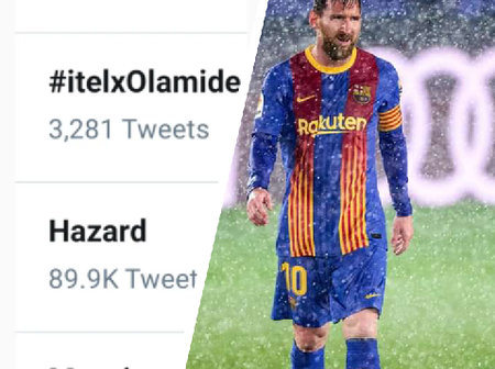 Leo Messi is trending on Twitter, see the reason why he is on the top trend.