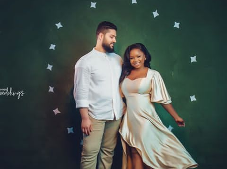 Nigerian-Egyptian Marriage: See Pre-Wedding Photos of Samir and Ahmed