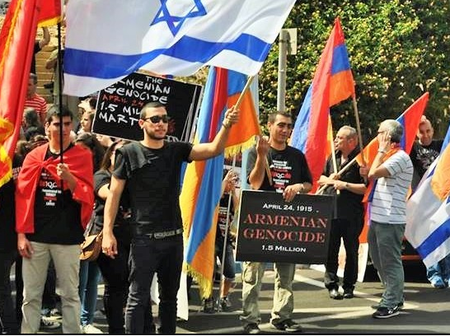 Do Israel and Armenia hate each other?