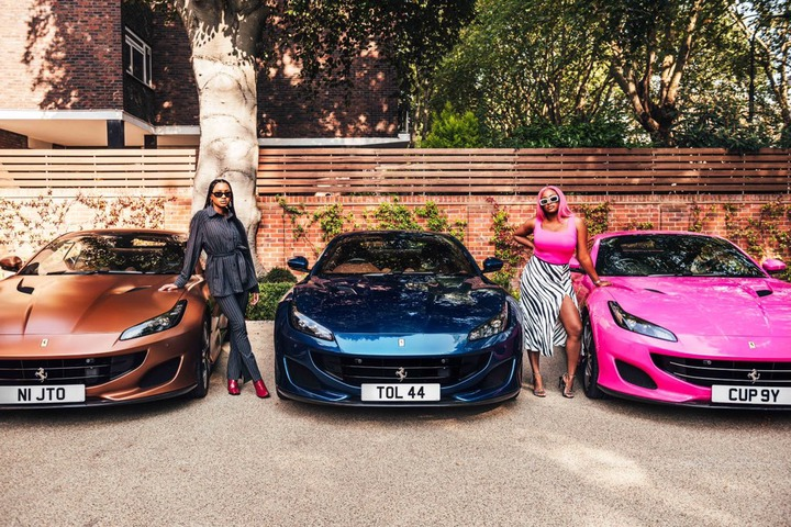 Otedola Splashes 200 million Naira On His Daughters As He Gets Them 3 Ferrari Cars 5ominds 5ominds