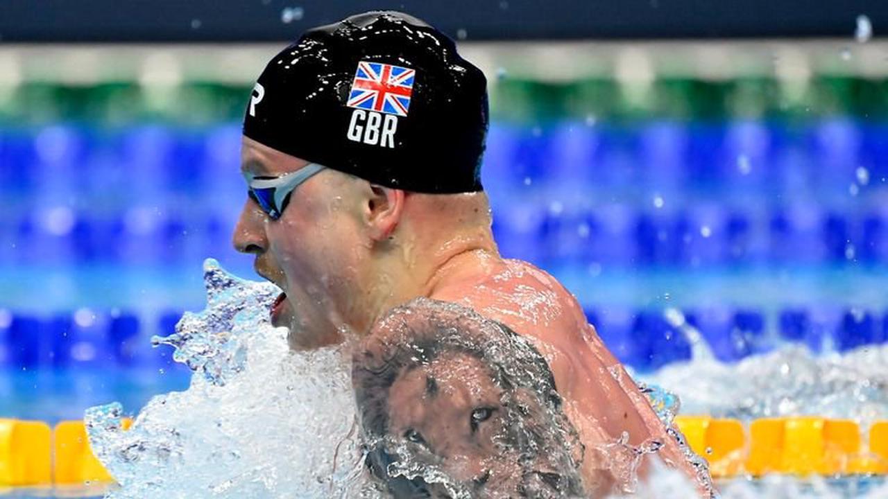 Adam Peaty: Team GB swimmer insists pressure brings freedom as he seeks to defend Olympic title