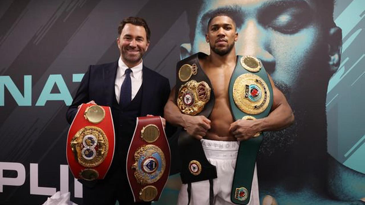 Anthony Joshua and Tyson Fury receive multiple offers for undisputed fight