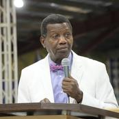 Pastor Adeboye has decreed what will happen in the life of anyone who worshiped God this Sunday
