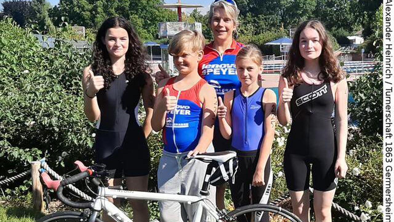 Turnerschaft 1863 Germersheim e.V. - Trikids der Abteilung Leichtathletik Trikids erfolgreich beim Heart Racer Junior Triathlon in Heidelberg