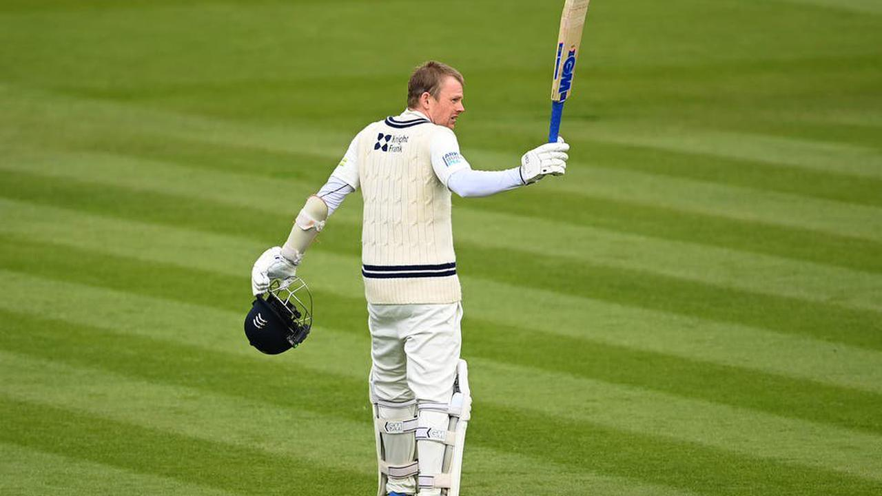 Robson's superb century props up Middlesex on opening day of Championship season
