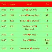 Bank On Super Monday Five (4) VIP MultIbet Matches Set To Earn You a Big Return