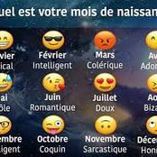 Quel est votre mois de naissance ?