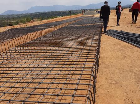 [Photos] One of the Promised Stadiums by Jubilee Government Larger than Nyayo Under Construction