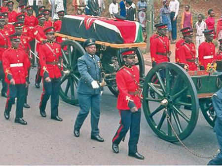 Nuggets of History: How the Military Exhumed HE. Jomo Kenyatta's Body three Months After his Burial