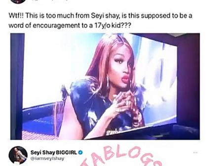 Reactions as Sheyi Shay slams 17-year-old Nigerian Idol singer