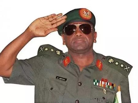 General Sani Abacha Did Not Die Of Poisoned Apple, See Real Cause of His Death